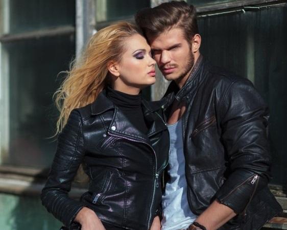 Ухоженные кожаные куртки