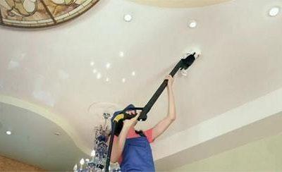 Натяжной потолок без разводов