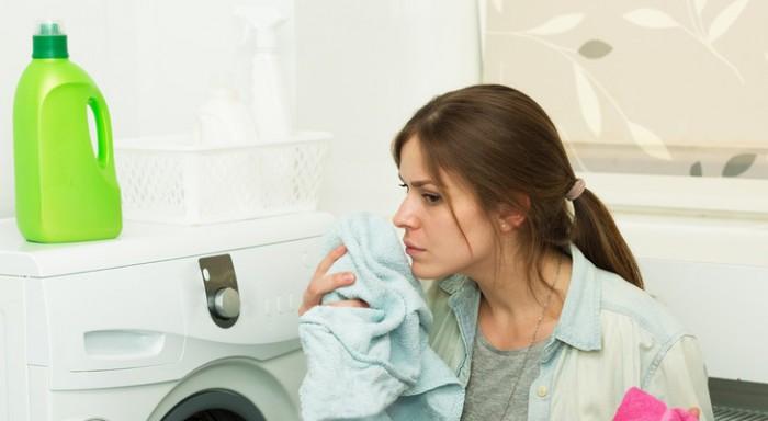 Неприятный запах в стиральной машине