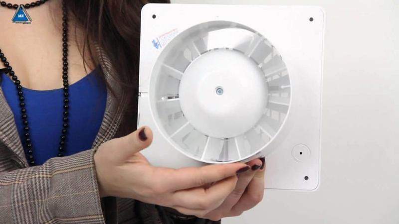 Вентилятор в вентиляционный канал