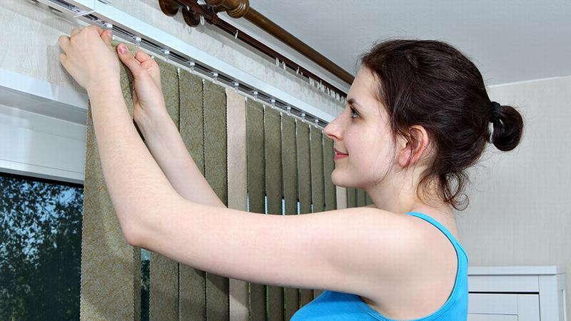 Как стирать вертикальные жалюзи в стиральной машине