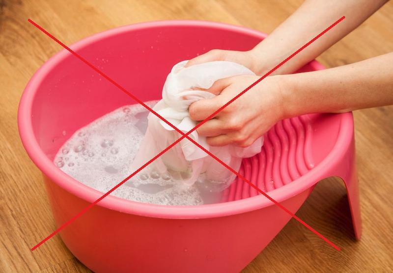 Не стирайте шерсть и шелк щелочью
