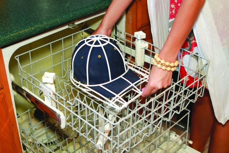Стирка кепки в посудомоечной машине
