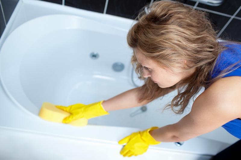 Белоснежная ванна после лимонной кислоты