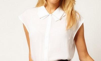 Отбелить белую блузку
