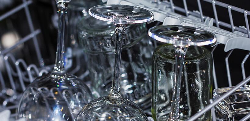 Мойка хрустальных изделий в посудомоечной машине