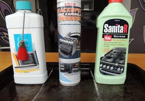 Средства для очистки духовки