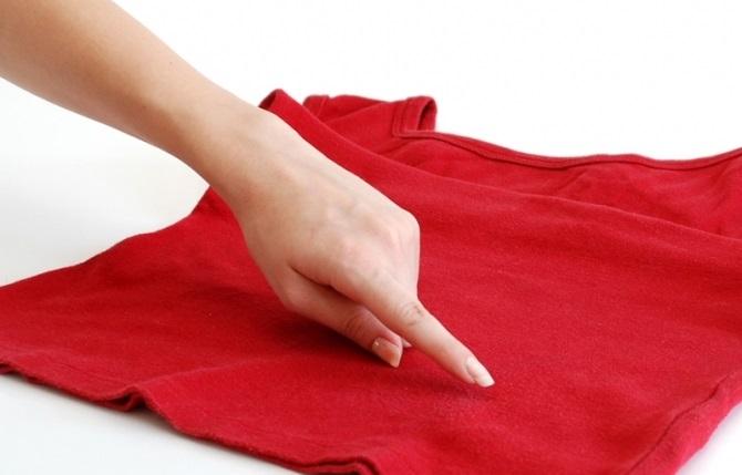 Удаление плесени с ткани