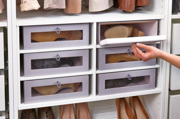 Хранение обуви с лаковым покрытием