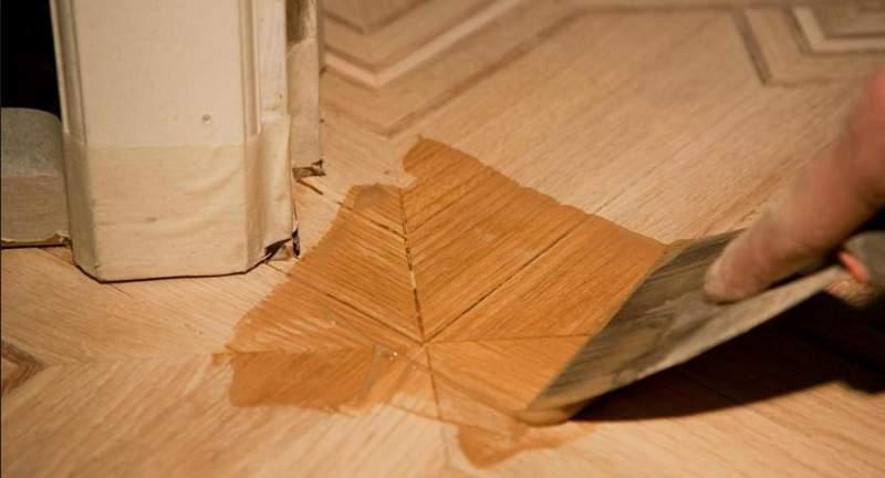 Шпаклевание щелей в доме