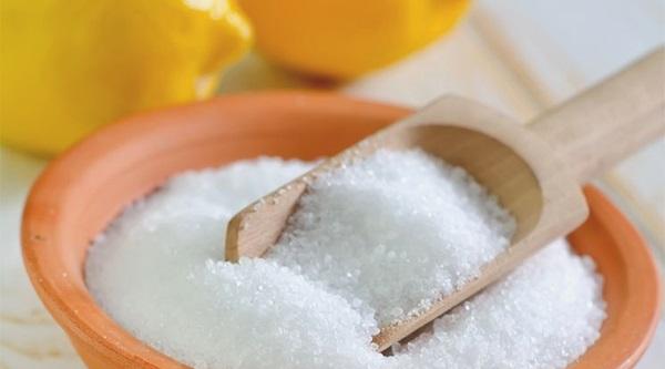 Лимонная кислота для очистки белой подошвы