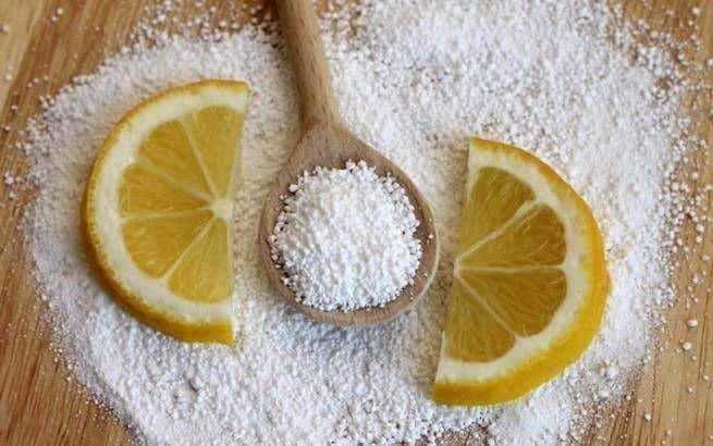 Лимон против пятен от чернил