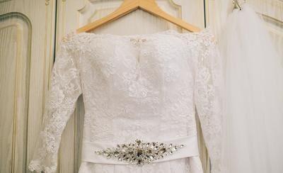 Стирка свадебного платья