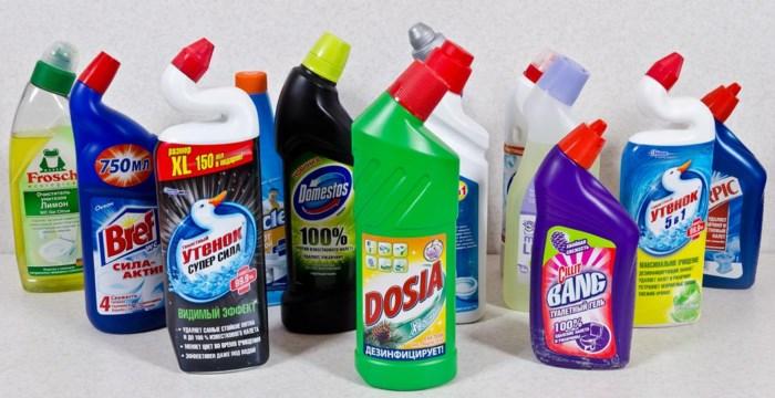 Профессиональные чистящие средства