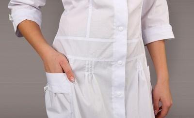 Отбеливание медицинского халата