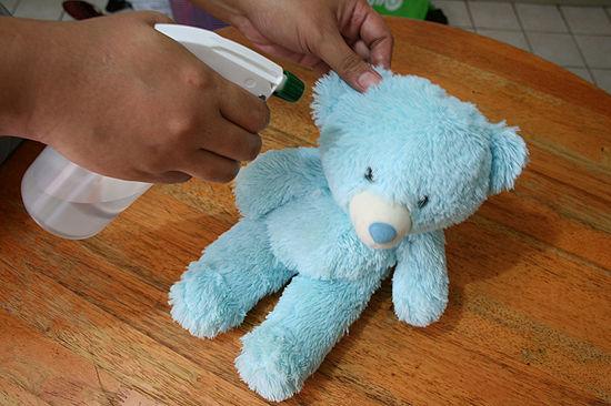 Влажная чистка для игрушки