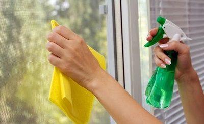 Очистить стекло от скотча