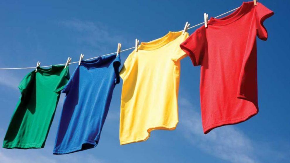 Сушка одежды на улице