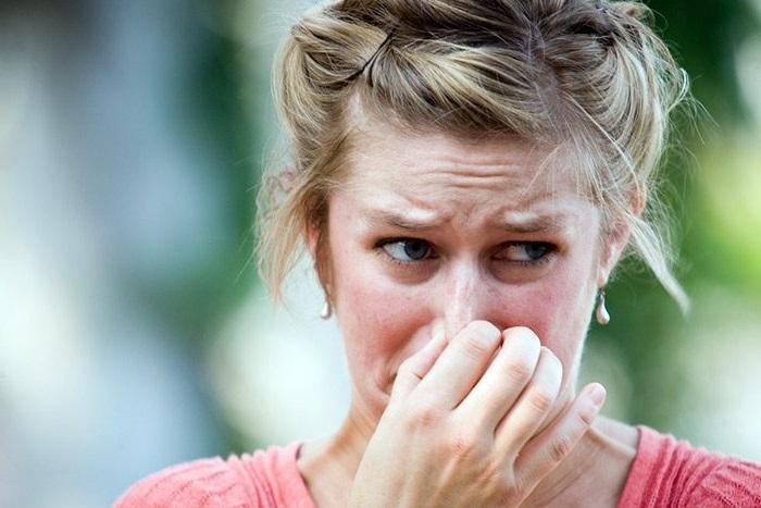Воздействие неприятного запаха